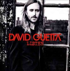 david guetta listen cover art